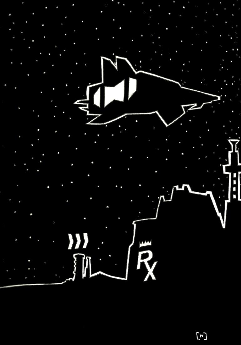 drugking spaceship