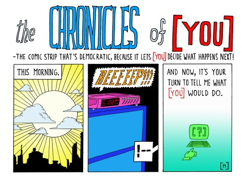the CHRONICLES of [ YOU ] one