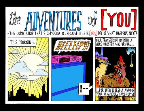 the  elected adventures of [ YOU ]