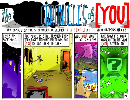 the CHRONICLES of [ YOU ] 6
