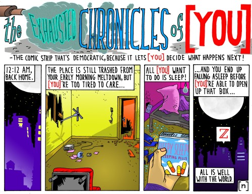 the EXHAUSTED CHRONICLES of [ YOU ] 6