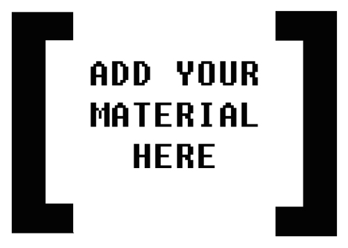 YOUR MATERIAL