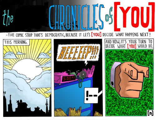 the CHRONICLES of [ YOU ] 9